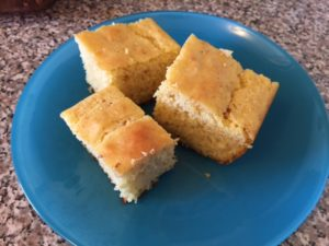 browned butter cornbread